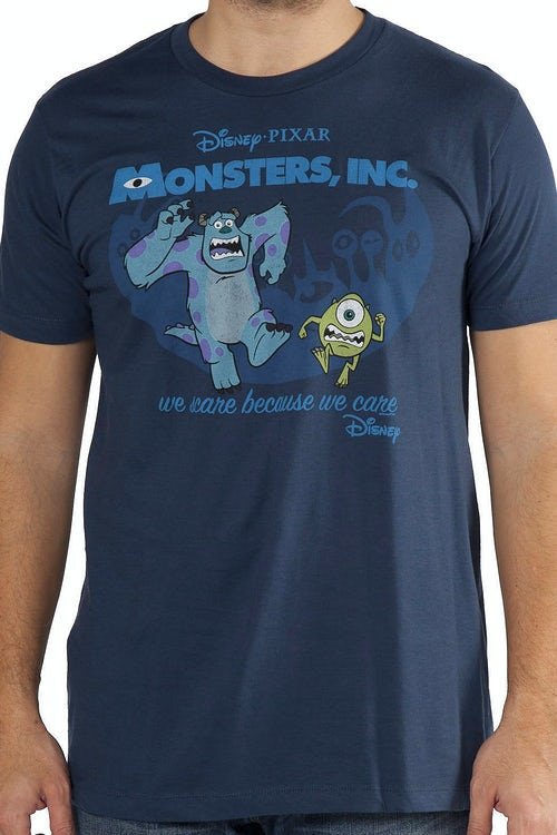 Mike and Sulley Monsters Inc  Shirt
