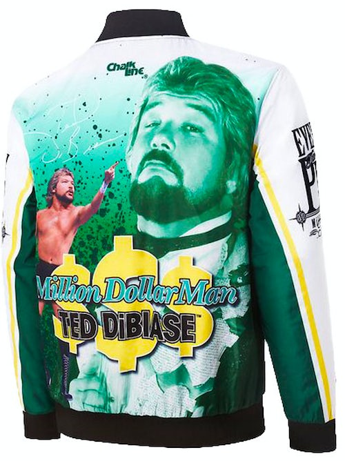 Million Dollar Man Ted DiBiase Sublimated Jacket