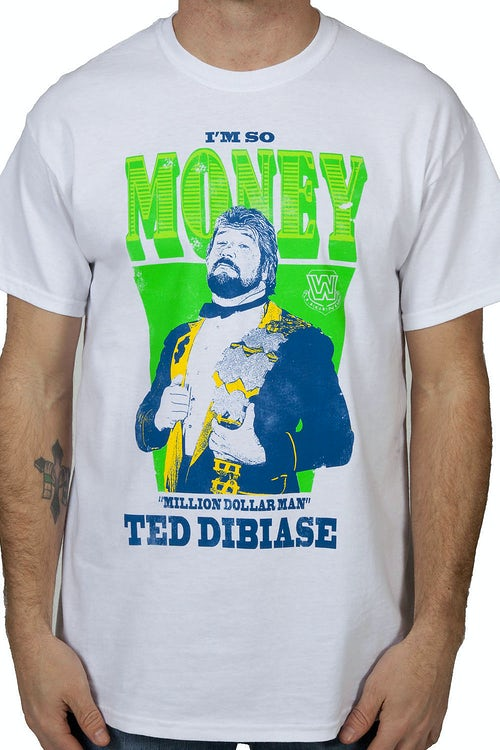 Million Dollar Man Ted Dibiase T-Shirt
