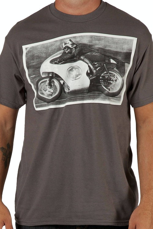 Motorcycle Darth Vader Shirt