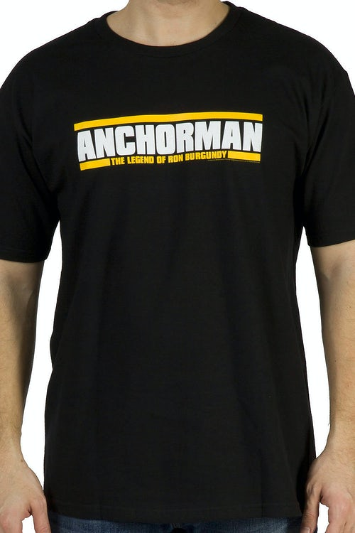 Movie Logo Anchorman T-Shirt