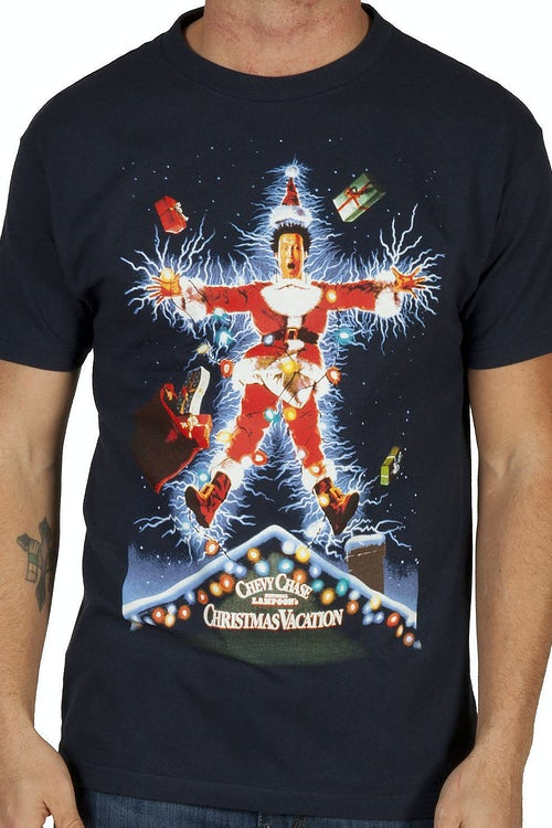Movie Poster Christmas Vacation Shirt