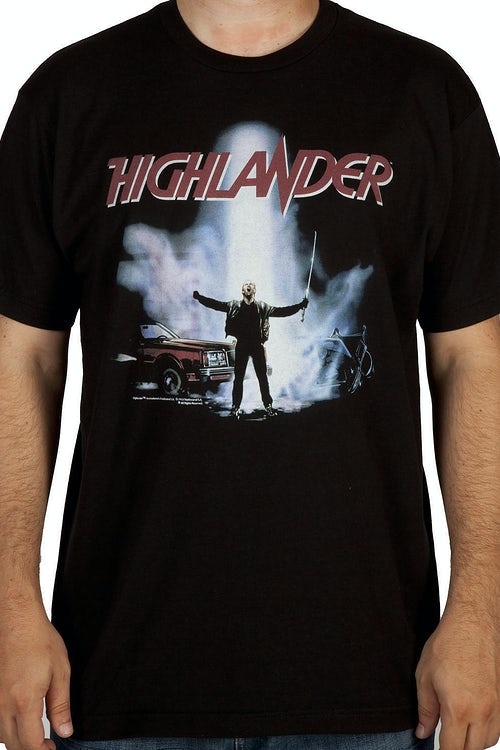 Movie Poster Highlander Shirt