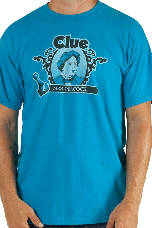 Mrs Peacock Clue Shirt