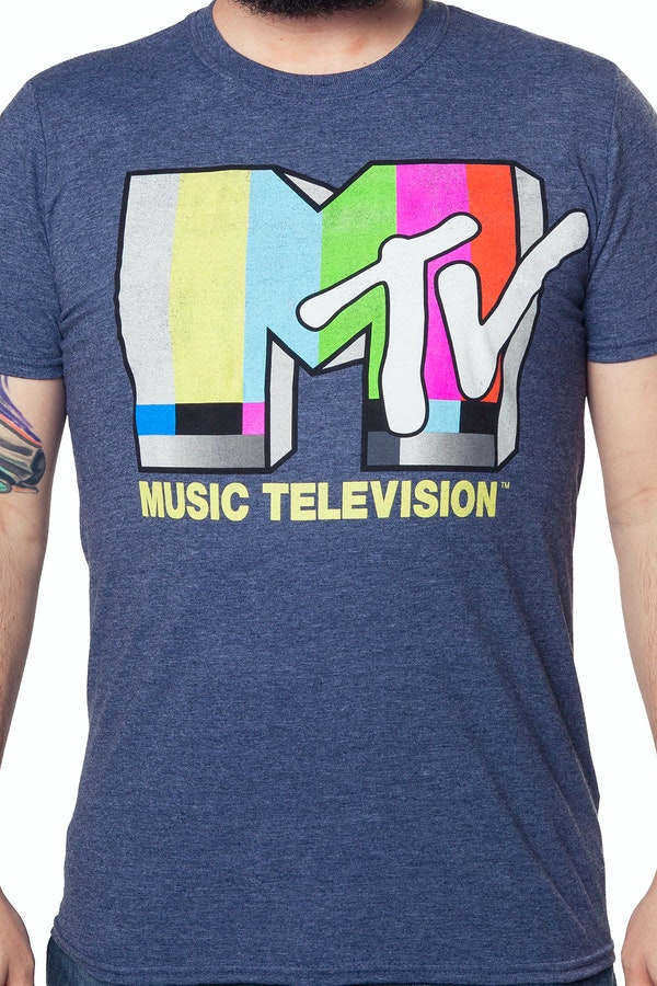 MTV Test Pattern Shirt