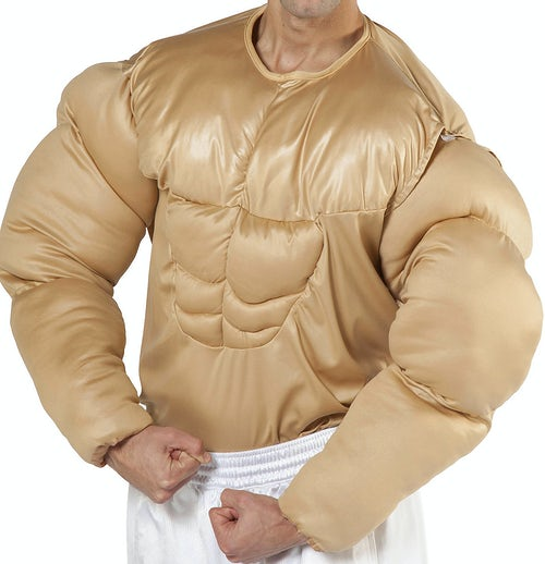 Muscle Chest Shirt Costume