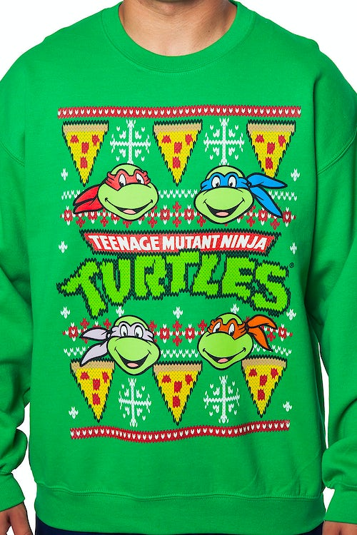 Ninja Turtles Faux Christmas Sweater