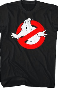 No Ghost Logo Real Ghostbusters T-Shirt