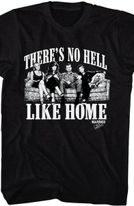 No Hell Like Home Married With Children T-Shirt