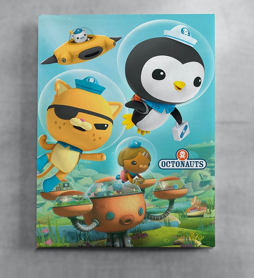 Octonauts Octopod Color Canvas Wall Art Octonauts Canvas