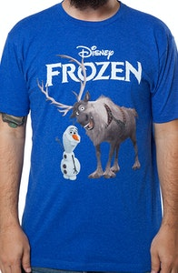Olaf and Sven Frozen Shirt