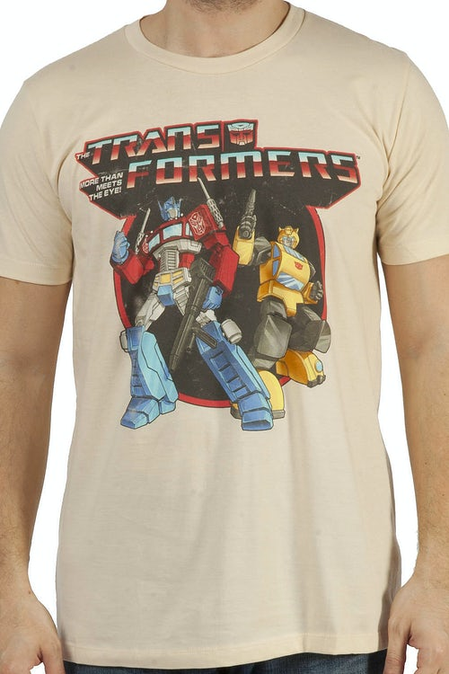 Optimus Prime and Bumblebee Shirt