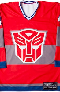 Optimus Prime Hockey Jersey
