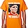 Orange Killing Me Smalls Shirt