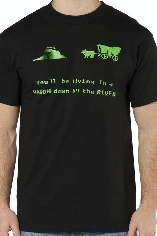Oregon Trail Wagon T-Shirt