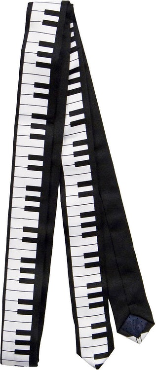 Piano Key Neck Tie