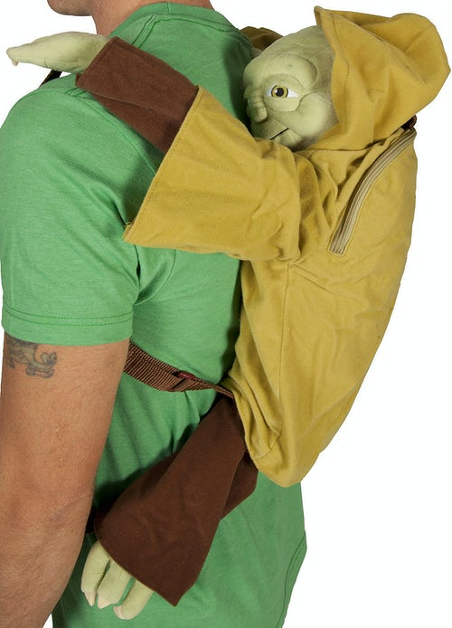 Plush Yoda Star Wars Back Pack