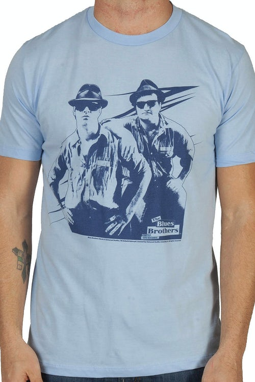 Posing Blues Brothers Shirt