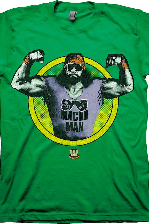 Posing Macho Man Randy Savage T-Shirt