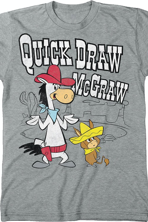 Quick Draw McGraw T-Shirt