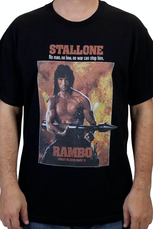 Rambo Part II Shirt