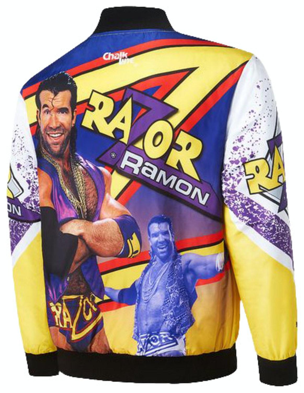 Razor Ramon Sublimated Jacket  sc 1 st  80s Tees & Razor Ramon Sublimated Jacket: WWE Jacket