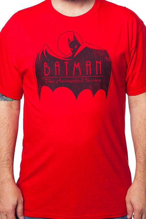 Red Cape Batman The Animated Series T-Shirt