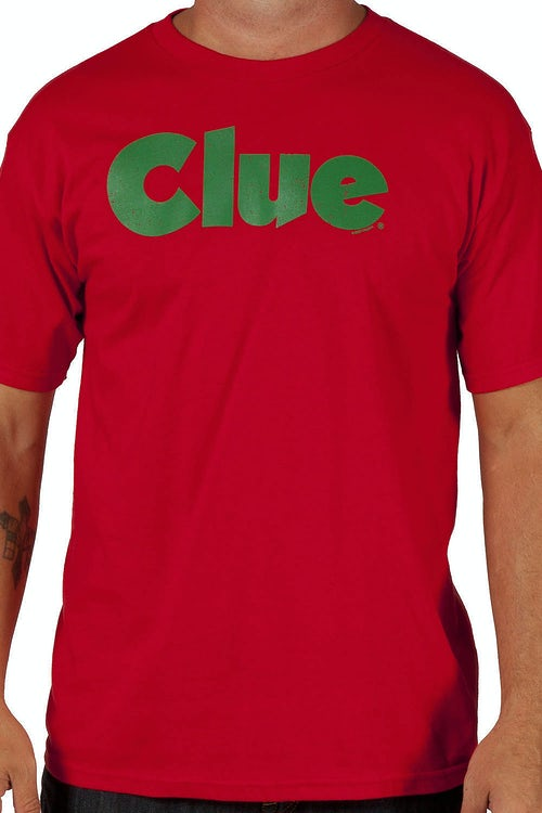 Red Clue Shirt