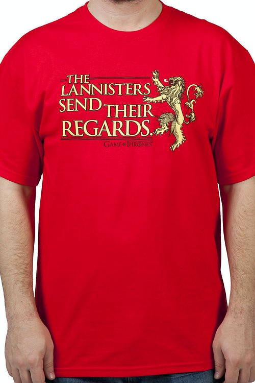 Regards Game of Thrones Shirt
