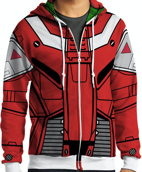 Robotech Miriya Sterling Sublimation Costume Hoodie