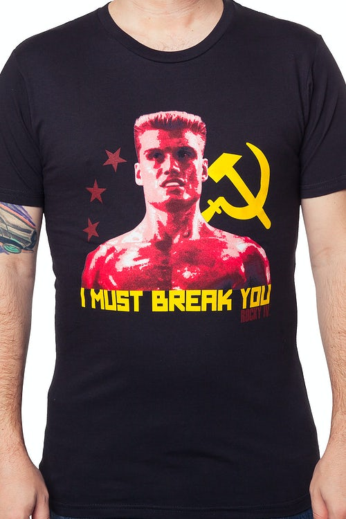 Rocky Drago Break You Shirt