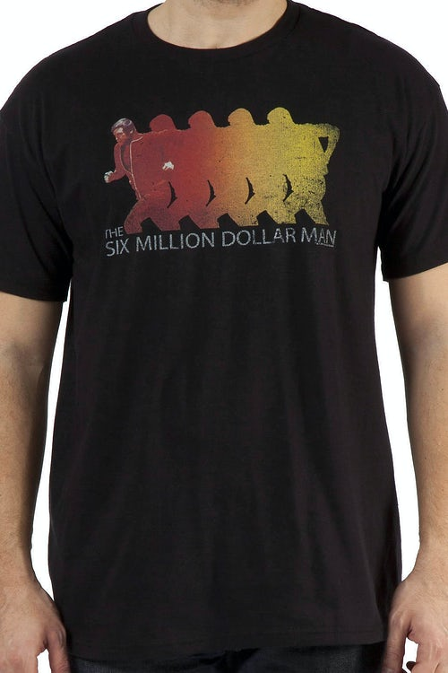 Running Six Million Dollar Man Shirt