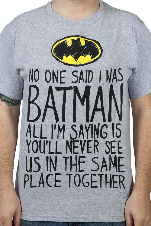 Same Place Batman Shirt