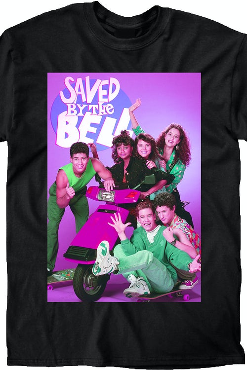 Scooter Saved By The Bell Cast T-Shirt