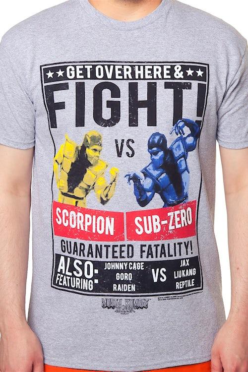 Scorpion vs Sub-Zero Mortal Kombat T-Shirt