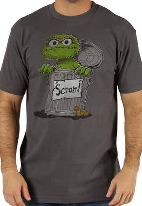 Sesame Street Oscar the Grouch Scram T-Shirt