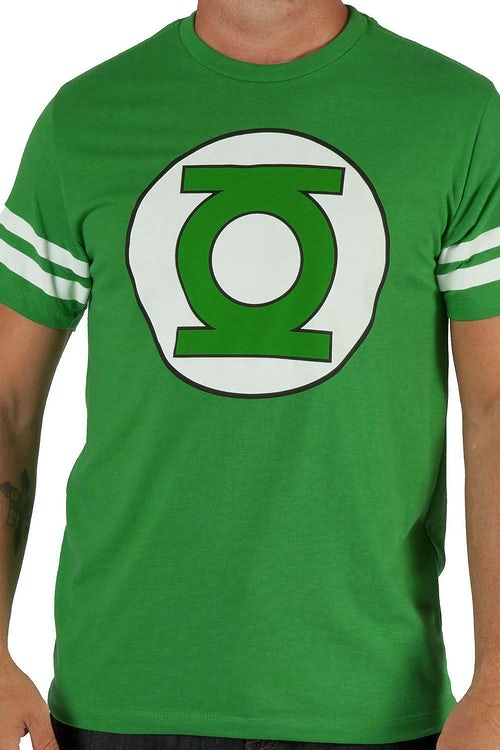 Sheldons Green Lantern Jersey Shirt
