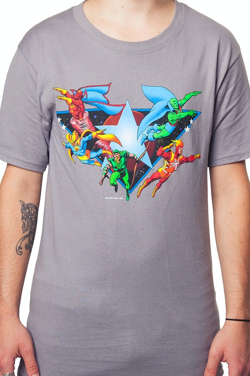 Sheldons Justice League Shirt