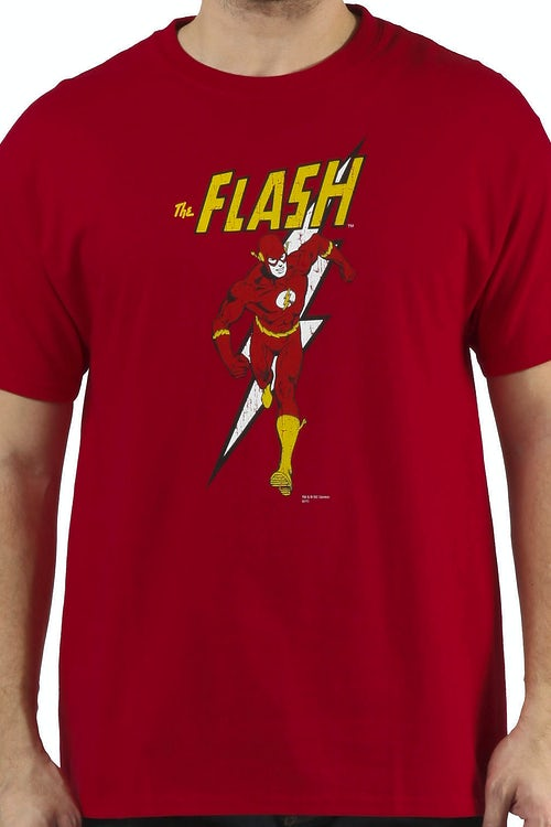 Sheldons Retro Flash Shirt