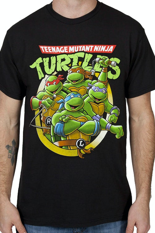 Shiny Ninja Turtles T-Shirt