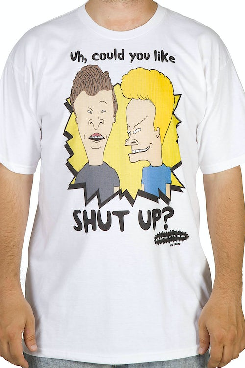 Shut Up Beavis and Butthead Shirt