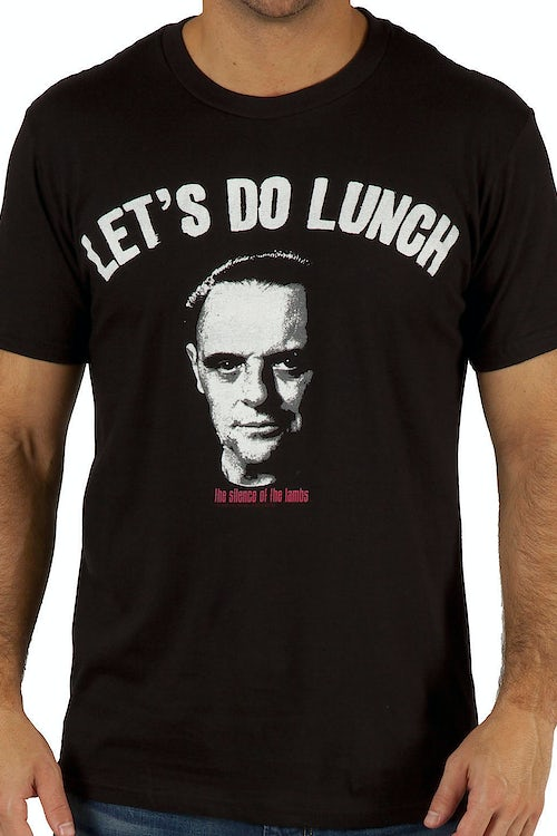 Silence of the Lambs Lets Do Lunch Shirt
