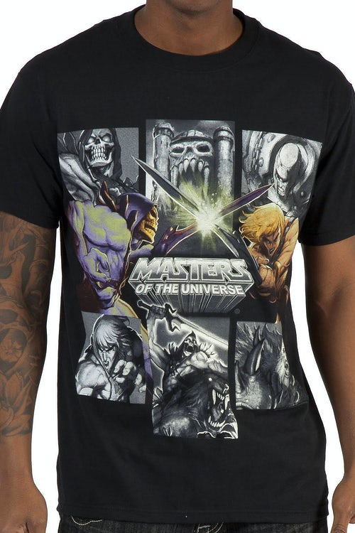 Skeletor Vs He Man Shirt