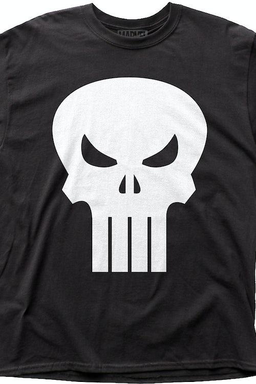 675b90888 Skull Logo Punisher T-Shirt: Marvel Comics Mens T-Shirt