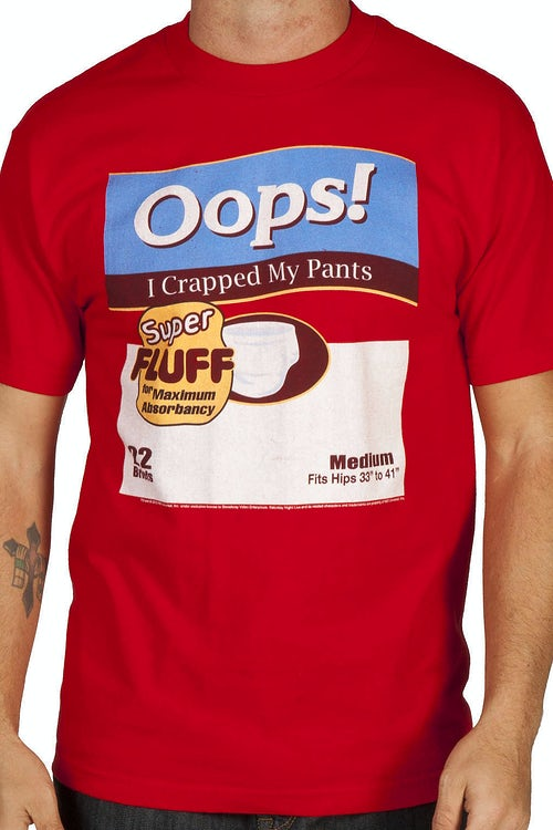 SNL Oops Adult Diapers Shirt