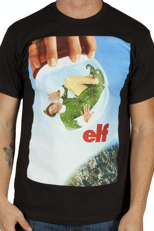 Snow Globe Elf Shirt