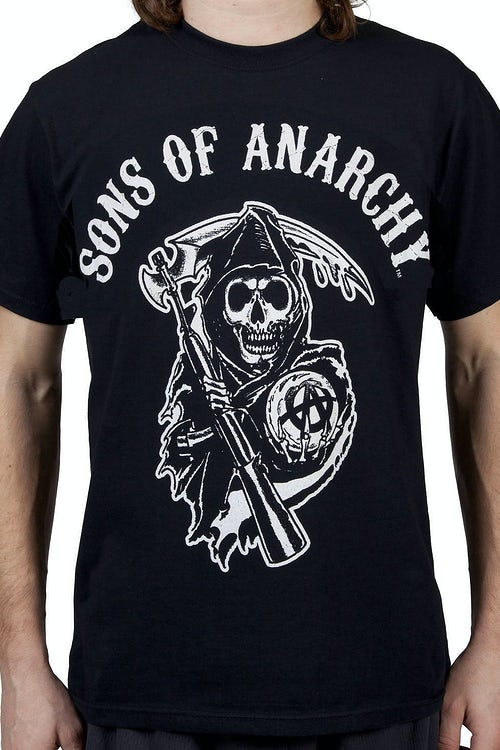 SOA Black Reaper Shirt