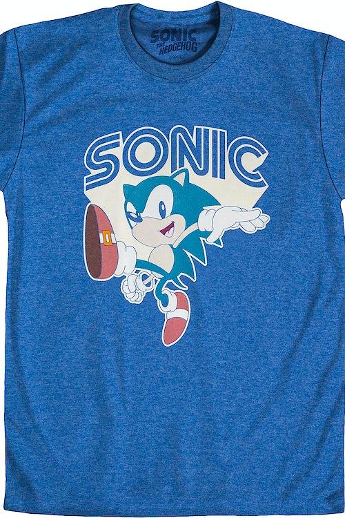 Sonic The Hedgehog T Shirt Sonic The Hedgehog Mens T Shirt