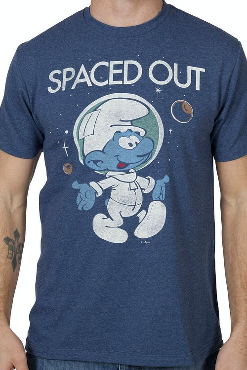Spaced Out Smurf T-Shirt
