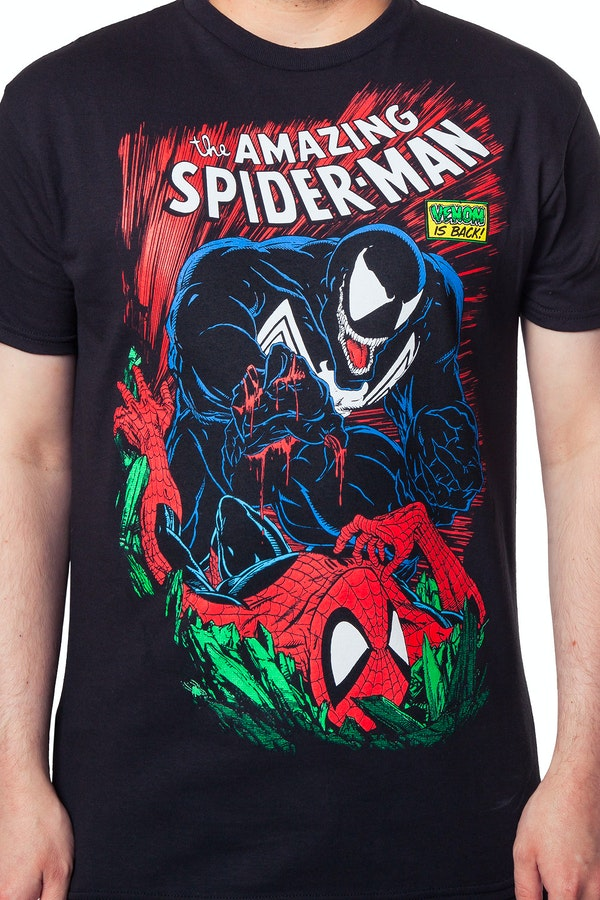 Spider-Man and Venom Shirt